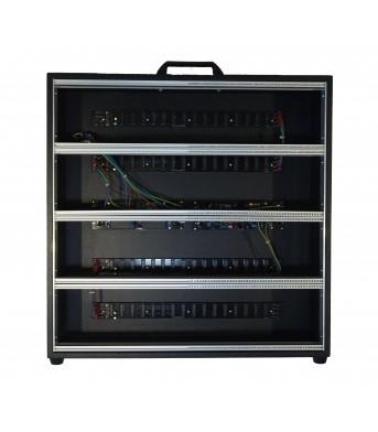 Synthesizer GR 12U 104 HP Black Case