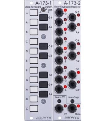 Doepfer A173-1/2 Micro Keyboard / Manual Gate Modules