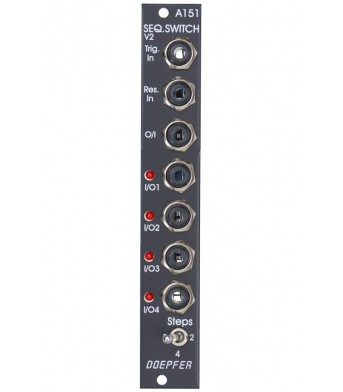 Doepfer A-151V Vintage Quad Sequential Switch
