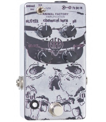 Animal Factory Amplification - Chemical Burn Pedal