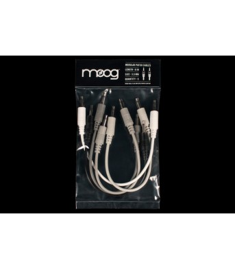 Moog Mother Patch Cable 15 cm 6 Pieces