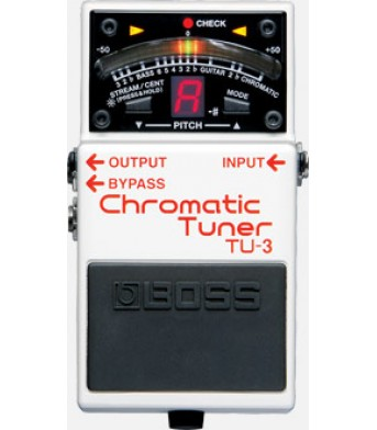 Boss TU-3 Tuner & Metronome