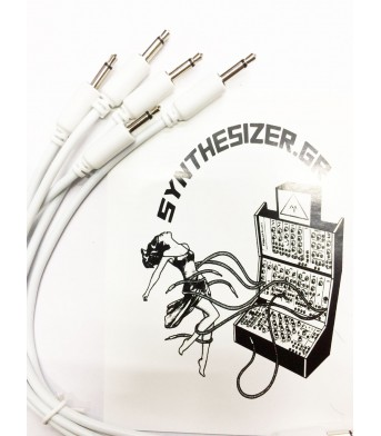 Synthesizer GR 20CM White Pack 5 Patch Cable