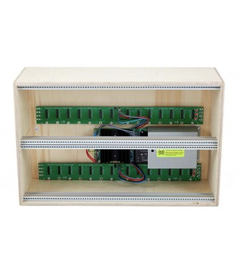 Doepfer A100 LC6 Low Cost Case with PSU3