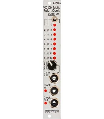 Doepfer A160-5 Voltage Controlled Clock Multiplier / Ratcheting Controller