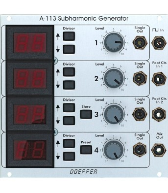 Doepfer A113 Subharmonic Generator