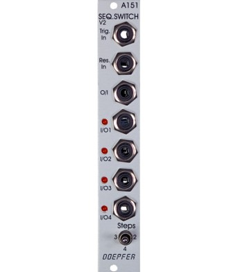 Doepfer A151 v2 Quad Sequential Switch
