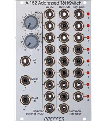Doepfer A152 Voltage Addressed Track&Hold / Analog Shift Register (ASR)/ Octal Switch (Multiplexer)