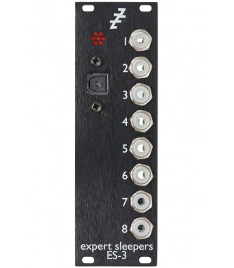 Expert Sleepers ES-3 MK4 Eurorack ADAT Lightpipe/CV Interface