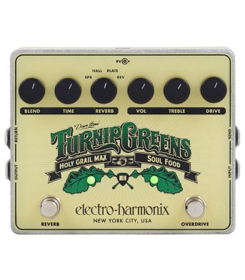 Electro Harmonix Turnip Greens PRE-ORDER 3 DAYS DELIVERY