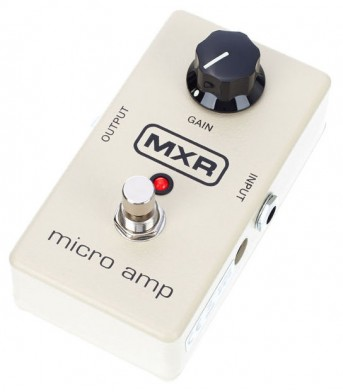 MXR M133 Micro Amp pedal preamp shortly available