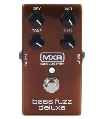 MXR M84 Bass Fuzz Deluxe shortly available