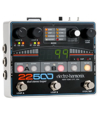 Electro Harmonix 22500 Dual Stereo Looper PRE-ORDER 3 DAYS DELIVERY