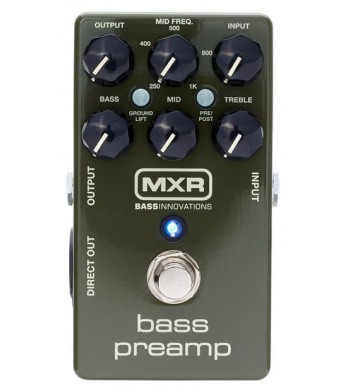 MXR M81 Bass Preamp shortly available