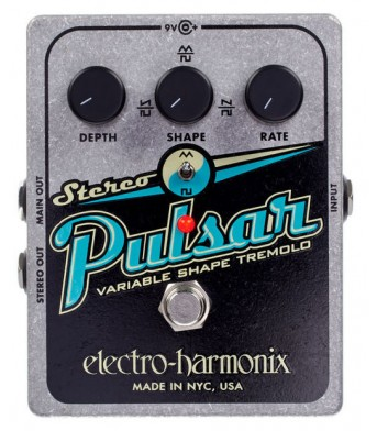 Electro Harmonix Stereo Pulsar PRE-ORDER 3 DAYS DELIVERY