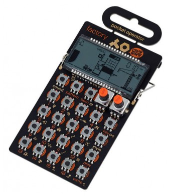 Teenage Engineering PO-16 Factory Synth Drum Machine