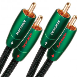 Audioquest Evergreen 2 x RCA 2 x RCA 1.5m 5' cable