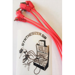 Synthesizer GR 45CM Angle Pink Pack 5 Patch Cable