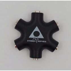 Synthesizer Gr Splitter 3.5 mm Black