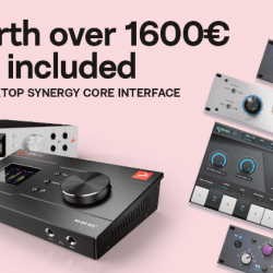 Antelope Audio Discrete 8 Synergy Core Special offer with Thunderbolt Cable