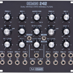 AJH Synth Gemini 2412 Dual SVF black