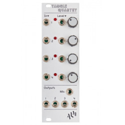 Alm Busy Circuits Alm009 Tangle Quartet Quad Linear VCA And Mixer