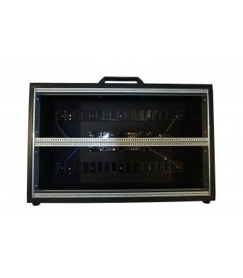 Synthesizer GR 6U 84HP BLACK CASE