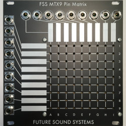 Future Sound Systems MTX9A Eurorack Active Pin Matrix Module