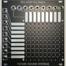 Future Sound Systems MTX9A Eurorack Active Pin Matrix Module