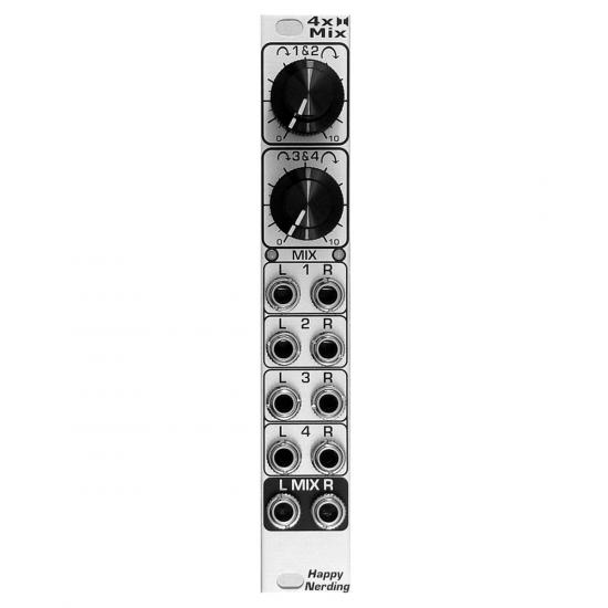 Happy Nerding 4X Stereo Mix Silver