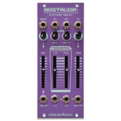 Dreadbox Nostalgia 3 Stage Delay