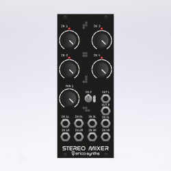 Erica Synths Drum Stereo Mixer Black