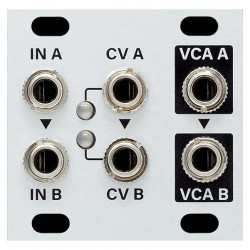 Intellijel Designs Dual VCA 1U