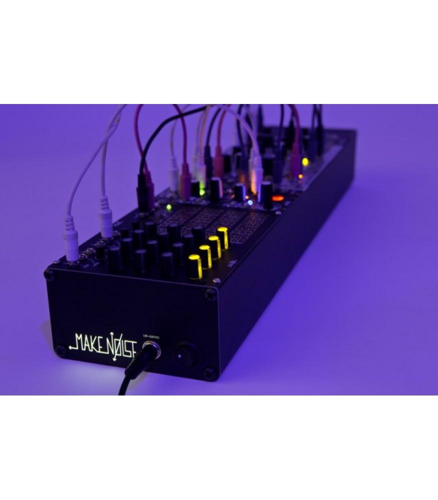 make noise 3u powered skiff modular case. Black Bedroom Furniture Sets. Home Design Ideas