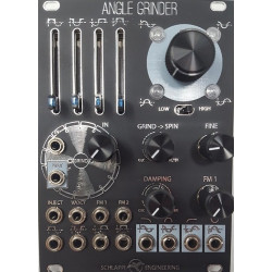 Schlappi Engineering Angle Grinder Black