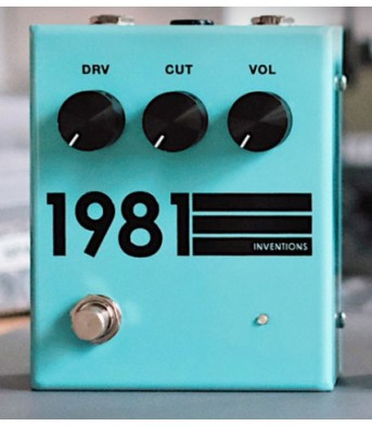 1981 Inventions DRV Teal and Black