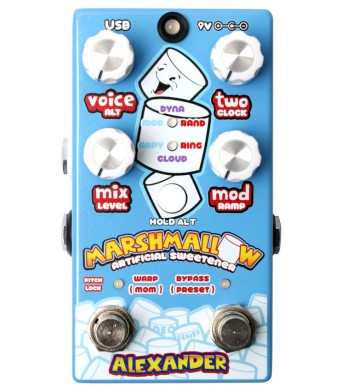 Alexander Pedals Marshmallow Pitch Modulator