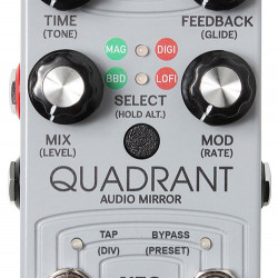 Alexander Pedals Quadrant Audio Mirror