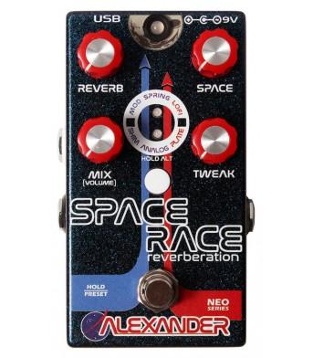 Alexander Pedals Space Race