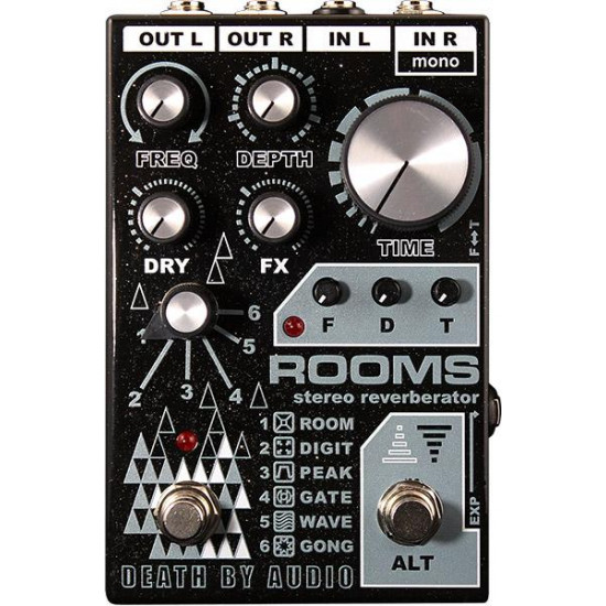Death By Audio Rooms Stereo Reverberator