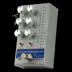Empress Effects Bass Compressor Silver