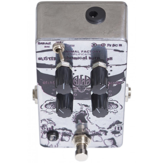 Animal Factory Amplification Chemical Burn Pedal