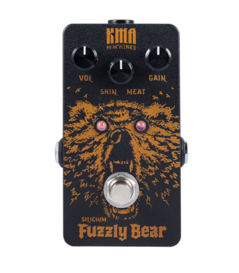 KMA Audio Machines-Fuzzly Bear Silicum Fuzz