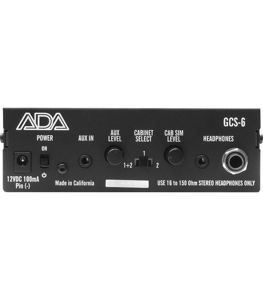 ada amps gcs 6 stereo guitar cabinet simulator di box. Black Bedroom Furniture Sets. Home Design Ideas