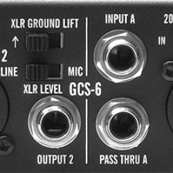 ADA AMPS GCS-6 Stereo Guitar Cabinet Simulator & DI Box