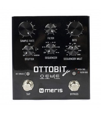 Meris Ottobit Jr. Bit Crusher / Step Sequencer / Sample Reduction pedal