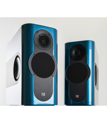 Kii THREE Pro DSP Studio Monitor Pair Aquamarine Metallic