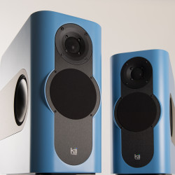 Kii Audio THREE Pro DSP Studio Monitor Pair Aruba Blue