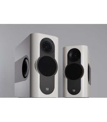 Kii Audio THREE Pro DSP Studio Monitor Pair Creme White