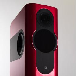 Kii Audio THREE Pro DSP Studio Monitor Pair Italian Red Metallic